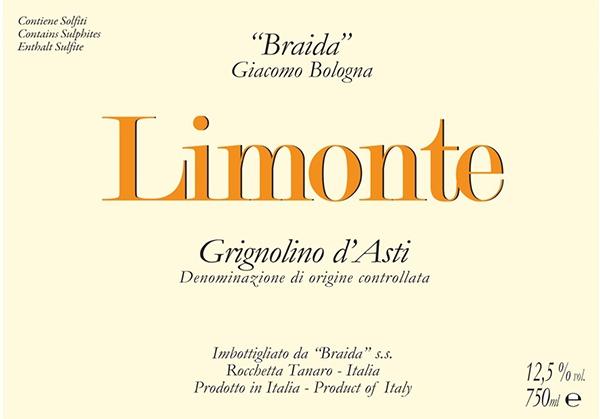 Limonte Grignolino Braida