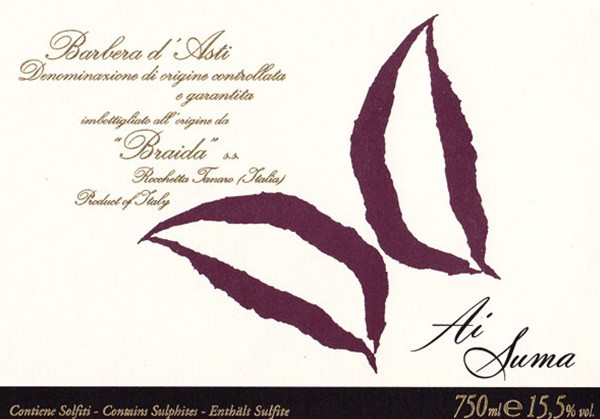 aisuma vino braida rocchetta tanaro